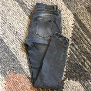 Zara skinny moto jeans.